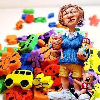 Baby-sitter, Children Educator, Toys, Children's Room