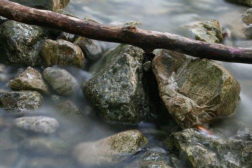 Creek, Water, Bach, Nature, Flow, Splash, Rock, Waters