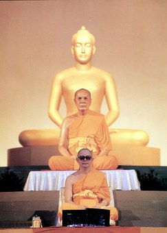 Buddhist, Budhas, Leader, Wat, Phra Dhammakaya, Temple