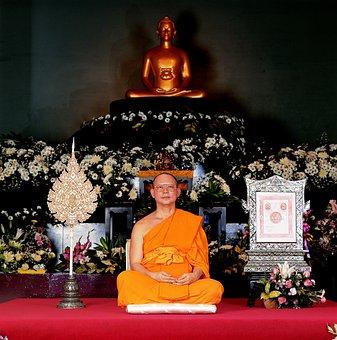 Buddhist, Leader, Wat, Phra Dhammakaya, Temple