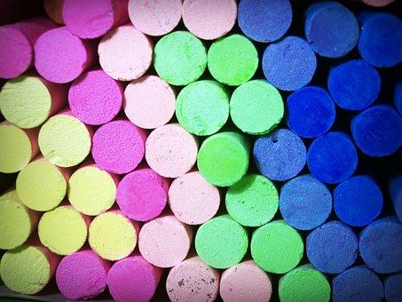 Color, Chalk, Yellow, Line, Blackboard, Orange, Drawing