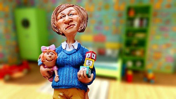 Baby-sitter, Children Educator, Children's Room, Nanny