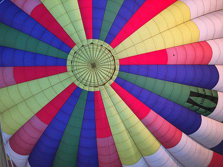 Balloon, Colors, Fabric, Inflation, Aerostatic, Color