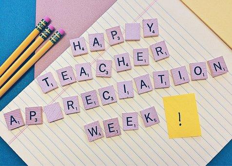 Teacher Appreciation Week, Teacher, Educator, School