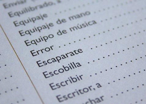 Spanish, Language, Error, Learn, Speak, Teacher