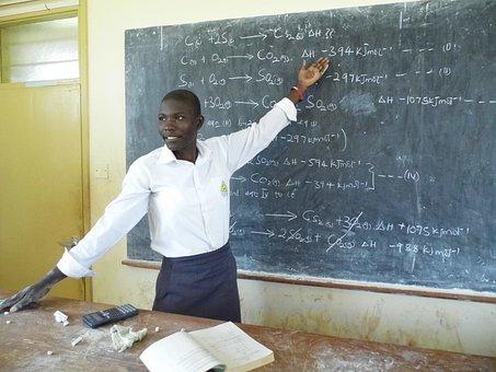 School, Chemistry, Uganda, Teacher, Explain, Rules