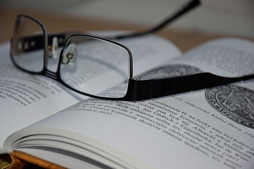 Clever, Glasses, Book, Learning, Textbook, Teacher