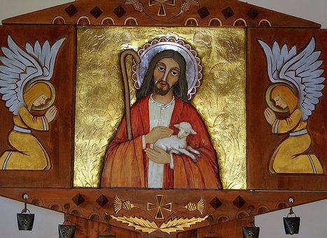 The Altar, Jesus, The Good Shepherd, Angels, The Art Of