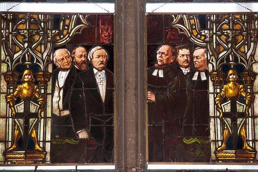 Glass Window, Kaiser Window, Kaiser Wilhelm