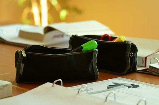 Case, Pencil Cases, Pens, School, Learn, Study, Leave