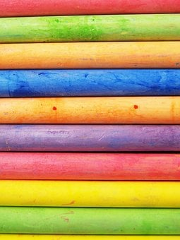 Chalk, Color, Red, Teacher, Yellow, Line, Leaf
