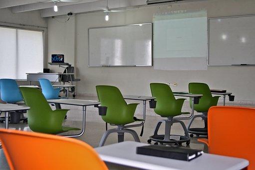 Living Room, Classroom, Master, School, Projector