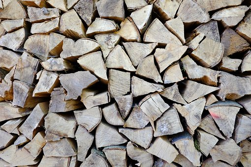 Wood, Firewood, Holzstapel, Sawed Off, Log, Background