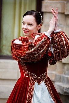 Medieval, Dance, History, Dancer, Girl, Costume