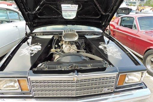 Auto, Motor, Vehicle, Engine Compartment, Pkw