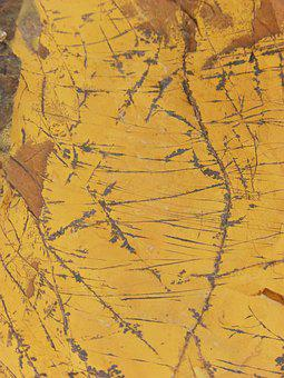 Ore, Rock, Pyrolusite, Texture, Yellow, Background