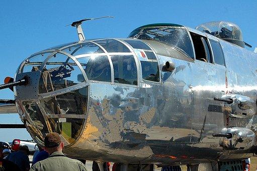 Air Show, Bomber Aircraft, Plane, Aviation, Show