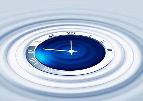 Clock, Wave, Period, Time, Fear, Present, Shops