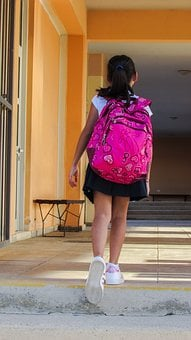 Student, School, First Day, First Steps, Primary School