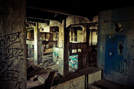 Lost Places, Leave, Pforphoto, Lapsed, Old, Ruin, Space
