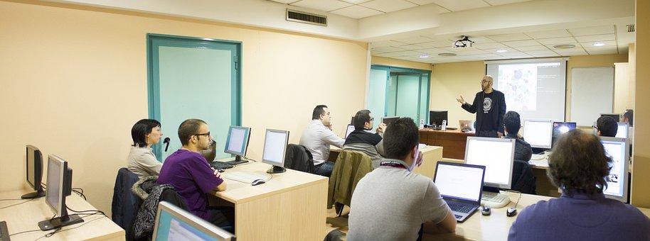 Class, Classroom, Professor, Student, School, Computing