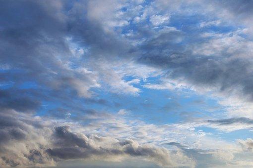 Sky, Clouds, Blue, Dark Clouds, Clouds Form