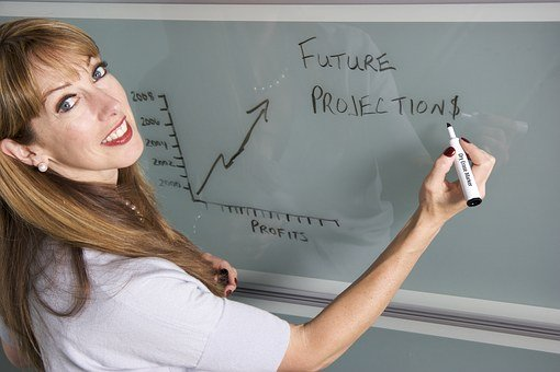 Smiling, Teacher, Female, College, Student