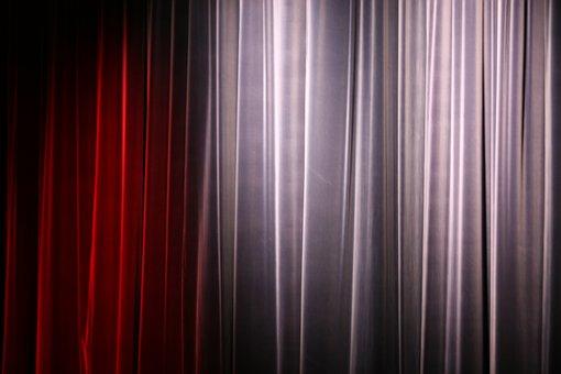 Curtain, Theatre, Texture