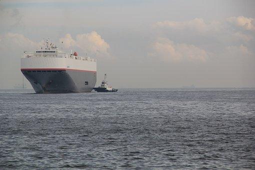 Tugboat, Tug, Ship, Boat, Transport, Vessel, Harbor