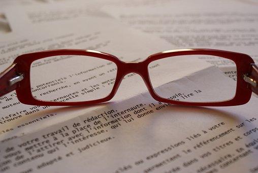 Sunglasses, Written, School, Return, Class, Writing