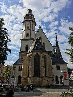 Church, Leipzig, Architecture, Thomas Church, Bach