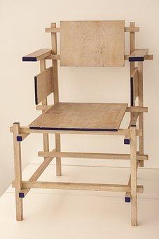 Chair, Armchair, 1918, Gerrit Thomas Rietveld, Utrecht