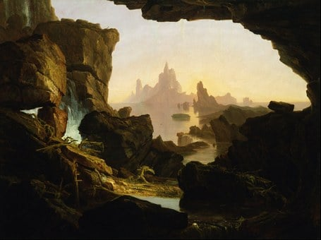 Thomas Cole, Painting, Oil On Canvas, Artistic, Nature