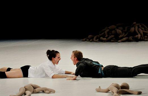 Ballet, Theater, Dance, Ballerina, Acrobat, Young