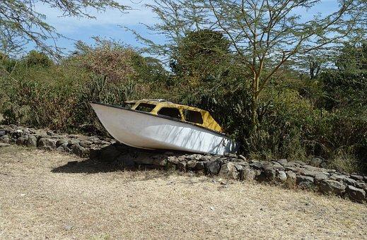 Transport, Boat, Stranded, Leave, Old