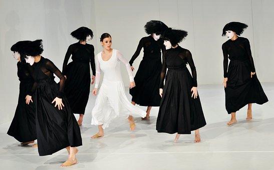 Dance, Ballerina, Ballet, Acrobat, Young, Body, Elegant