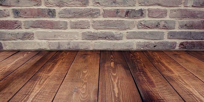 Floor, Wall, Set, Brick, Wood, Room, Studio, Stage