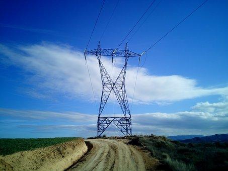 Torres, Hv, Electricity, Light, Energy