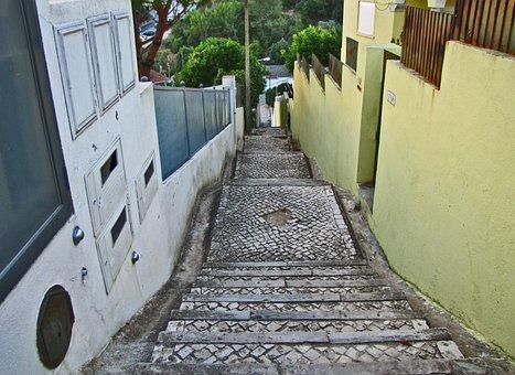 Ladder, The Descent, Stage, Down, Portugal, Estoril