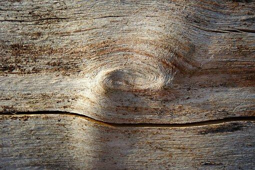 Wood, Knot, Log, Timber, Grain, Rings, Dead Wood