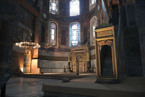 Hagia Sophia, Mosque, Istanbul, Landmark, Roman