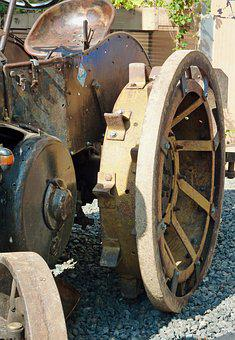 Old, Bulldog, Historical Agricultural Machinery