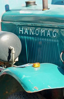 Old, Hanomag, Historical Agricultural Machinery