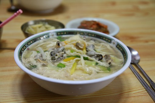 Noodles, If, If Food, Korean Food, Clam Kalguksu