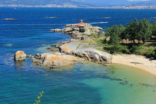 Lighthouse, A Illa De Arousa, Tourism, Landscapes