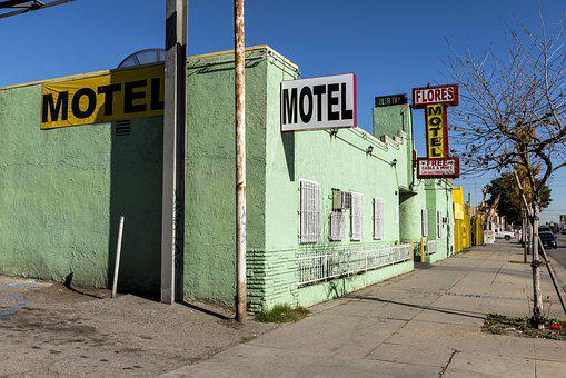 Flores Motel, Motel, Florence Graham, Los Angeles