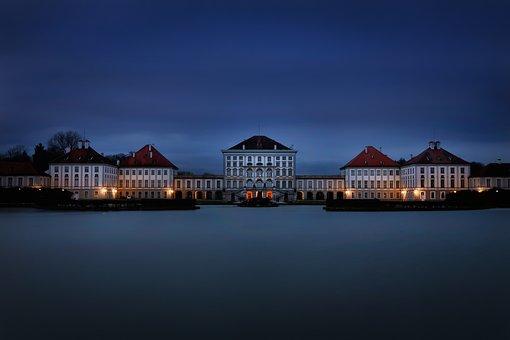 Munich, Nymphenburg Palace, Blue Hour