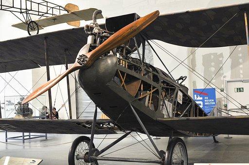 Old Plane, Muzij In Munich, Propeler