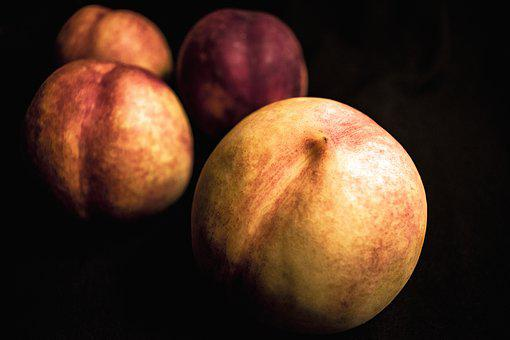 Nectarines, Food, Fruit, Peach, Healthy, Sweet
