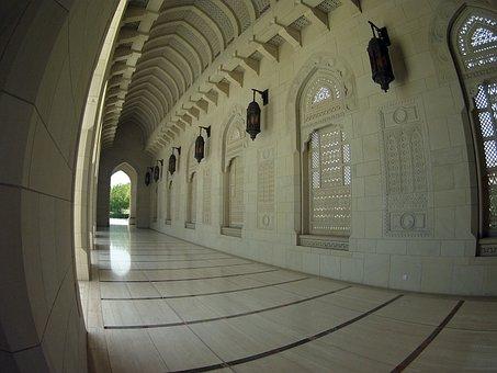 Oman, Mosque, Sultan, Muscat